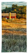 Wisconsin - Country Morning Beach Towel