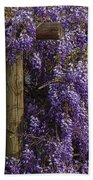 Wisteria Beach Towel