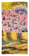 Wisterias Santa Fe New Mexico Beach Towel
