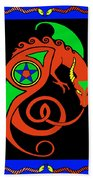 Witches Dragon Beach Towel
