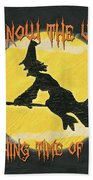 Witching Time Beach Towel