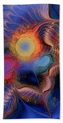 Within You And Without You Beach Towel