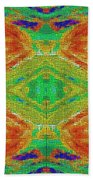 Within You Without You Mosaic Beach Towel