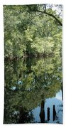 Withlacoochee River Reflections Beach Towel
