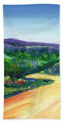 Without A Care Beach Towel