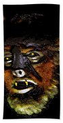 Wolf Man Original Work One Beach Towel