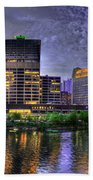 Wolf Point Panorama Beach Towel