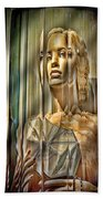 Woman In Glass Beach Towel
