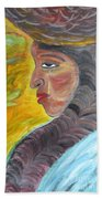 Woman Of Substance Beach Towel