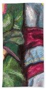 Women Wearing Shawls II Beach Towel