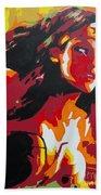 Wonder Woman - Sister Inspired Beach Towel