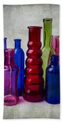 Wonderful Glass Bottles Beach Towel