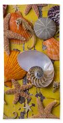 Wonderful Sea Life Beach Towel