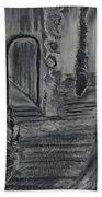 Wondering Halls Beach Towel