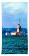 Wonders Of Istanbul Beach Towel