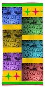 Wonderworks  Beach Towel