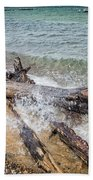 Wood And Water Beach Towel
