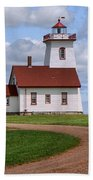 Wood Islands Lighthouse - Pei Beach Towel