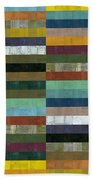 Wooden Abstract Lx Beach Towel