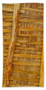 Wooden Roof Beach Towel