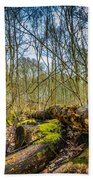 Woodland Fungi Beach Towel