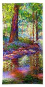 Woodland Rapture Beach Towel