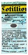 Woodstock Side 1 Beach Towel