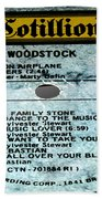 Woodstock Side 5 Beach Towel