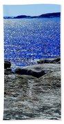 Woody's Island Beach Towel