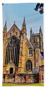 Worcester Cathedral Beach Towel