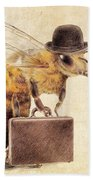 Worker Bee Beach Towel