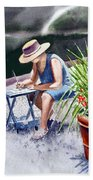 Working Artist Beach Towel