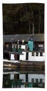 Working Boat Beach Towel by Bill Gallagher
