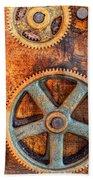 Workshop Beach Towel by Alexey Stiop