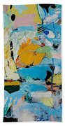 World Of Action Beach Towel
