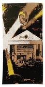 World Premier Gone With The Wind Loew's Grand Theater Atlanta Georgia December 1939-2008 Beach Towel