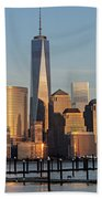 World Trade Center Freedom Tower Nyc Beach Towel