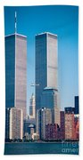 World Trade Center Beach Towel