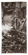 World War I Paris Bombed Beach Towel