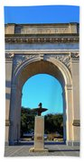 World War I Victory Arch Newport News Beach Towel