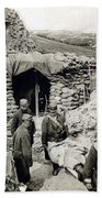 World War I: Wounded, 1918 Beach Towel
