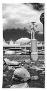 Worlds Fair Park In Knoxville - Infrared Beach Towel