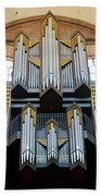 Worms Cathedral Organ Beach Towel