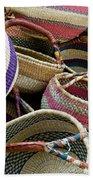 Woven Baskets Beach Towel
