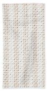 Woven Fabric Beach Towel by Tom Gowanlock