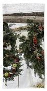 Wreaths For Sale Colonial Williamsburg Beach Towel