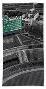 Wrigley Field Chicago Sports 04 Selective Coloring Beach Towel