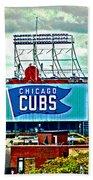 Wrigley Field Chicago Cubs Beach Towel