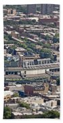 Wrigley Field - Home Of The Chicago Cubs Beach Towel