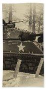 Ww II Battle Of The Bulge 02 Beach Towel